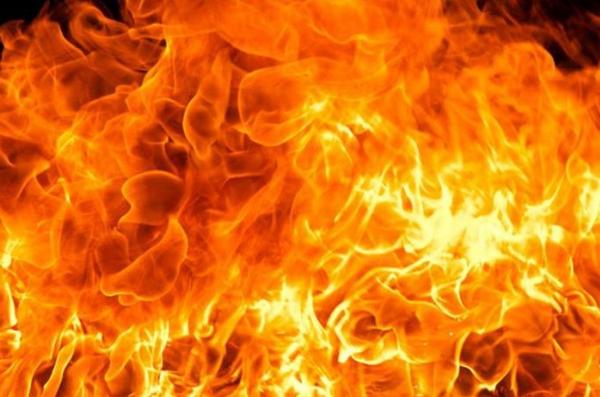 пламя, огонь, пожар