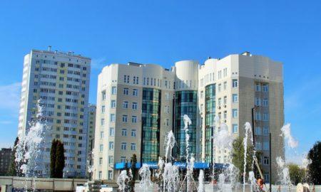 площадь содружества, налоговая, фонтан