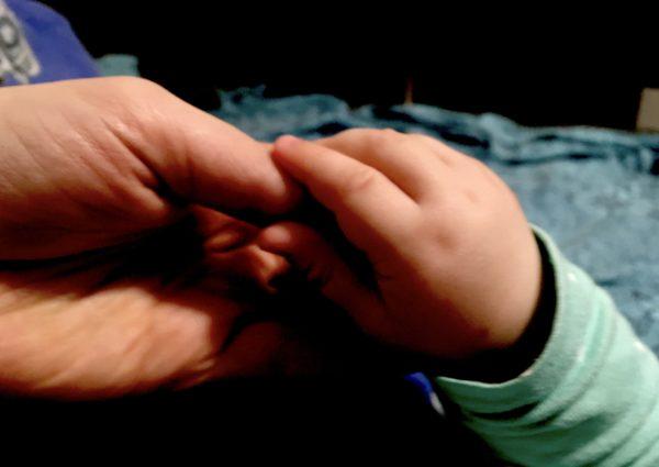 ребенок, младенец, рука