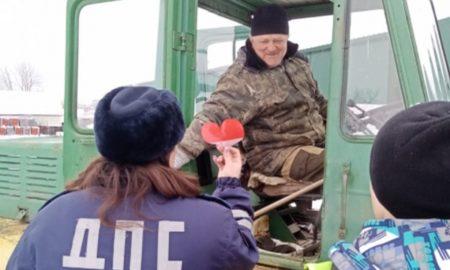 полицейские сердечки