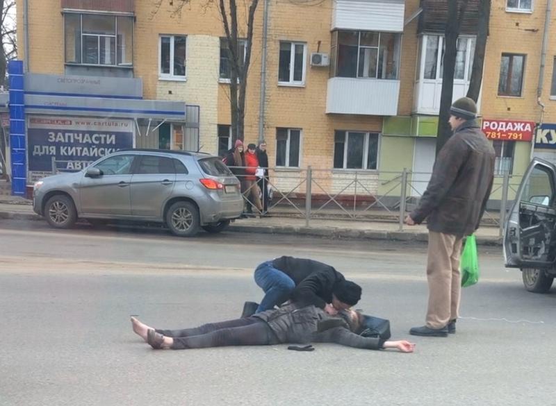 сбил пешехода, пострадавшая, искусственное дыхание