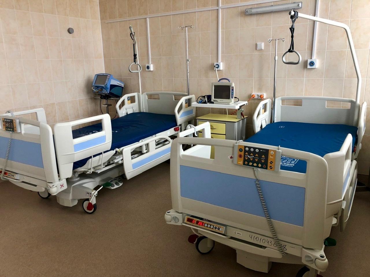 реанимация, койки, больница