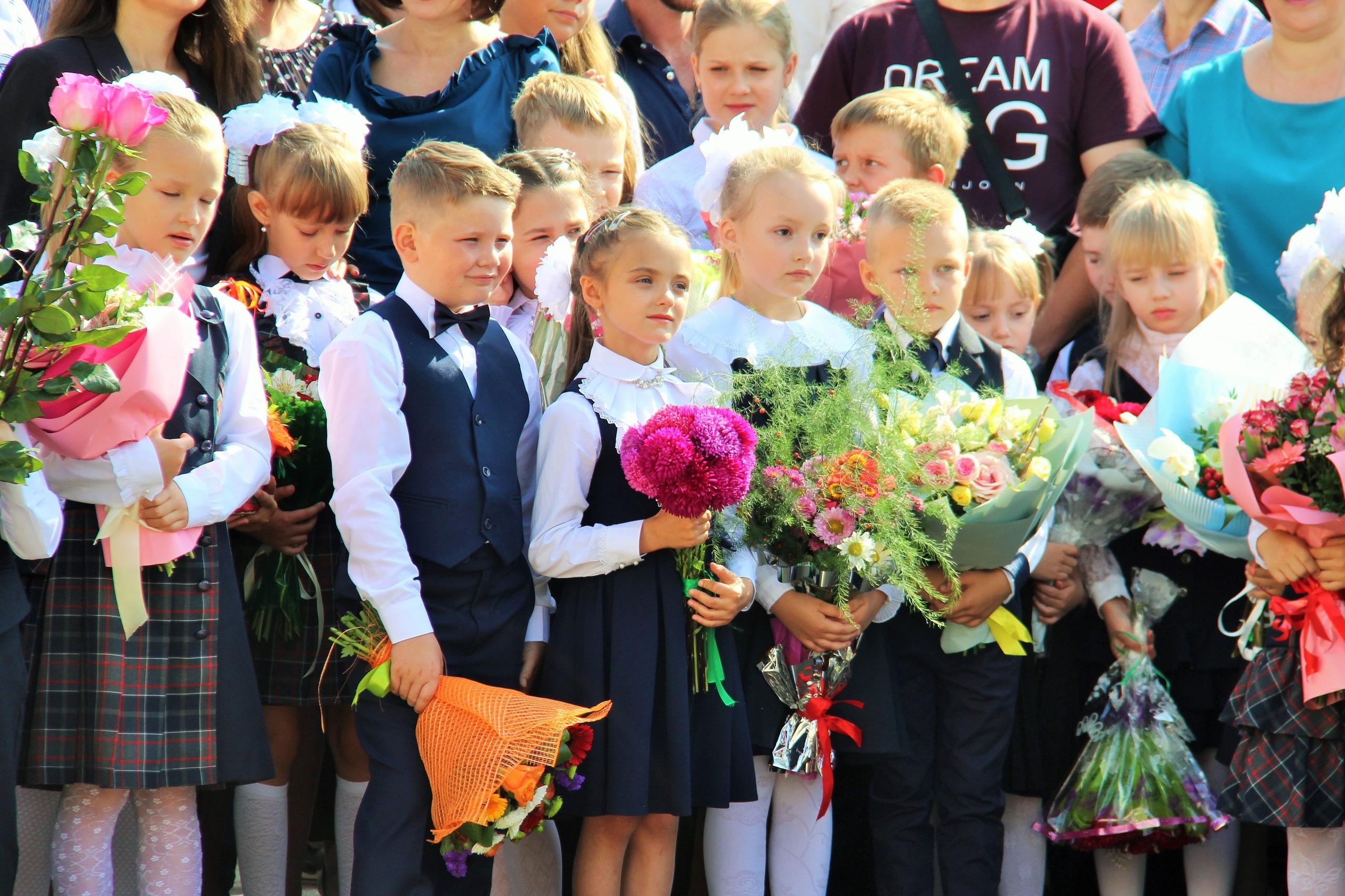 школьники, 1 сентября, школа, день знаний