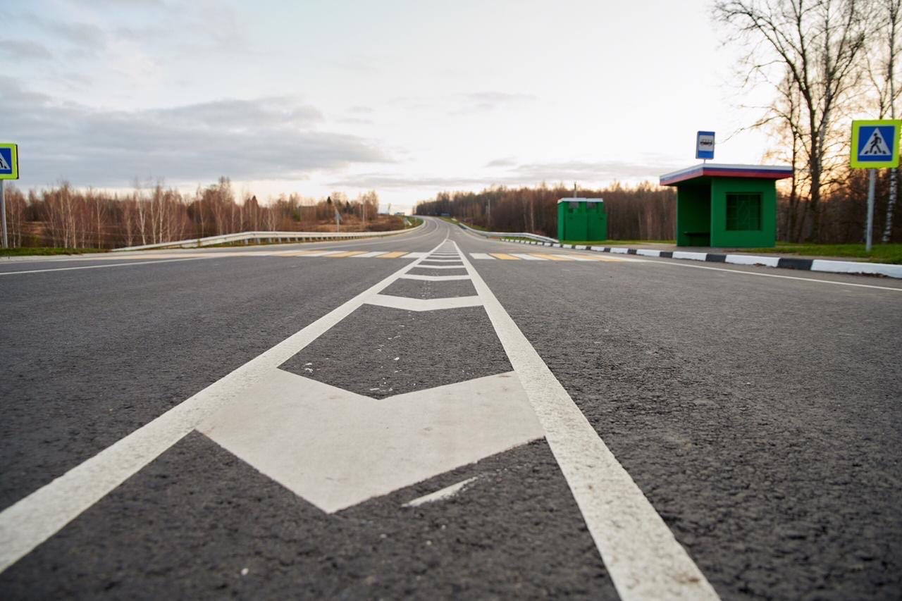 разметка, ремонт дорог, остановка, пешеходный переход
