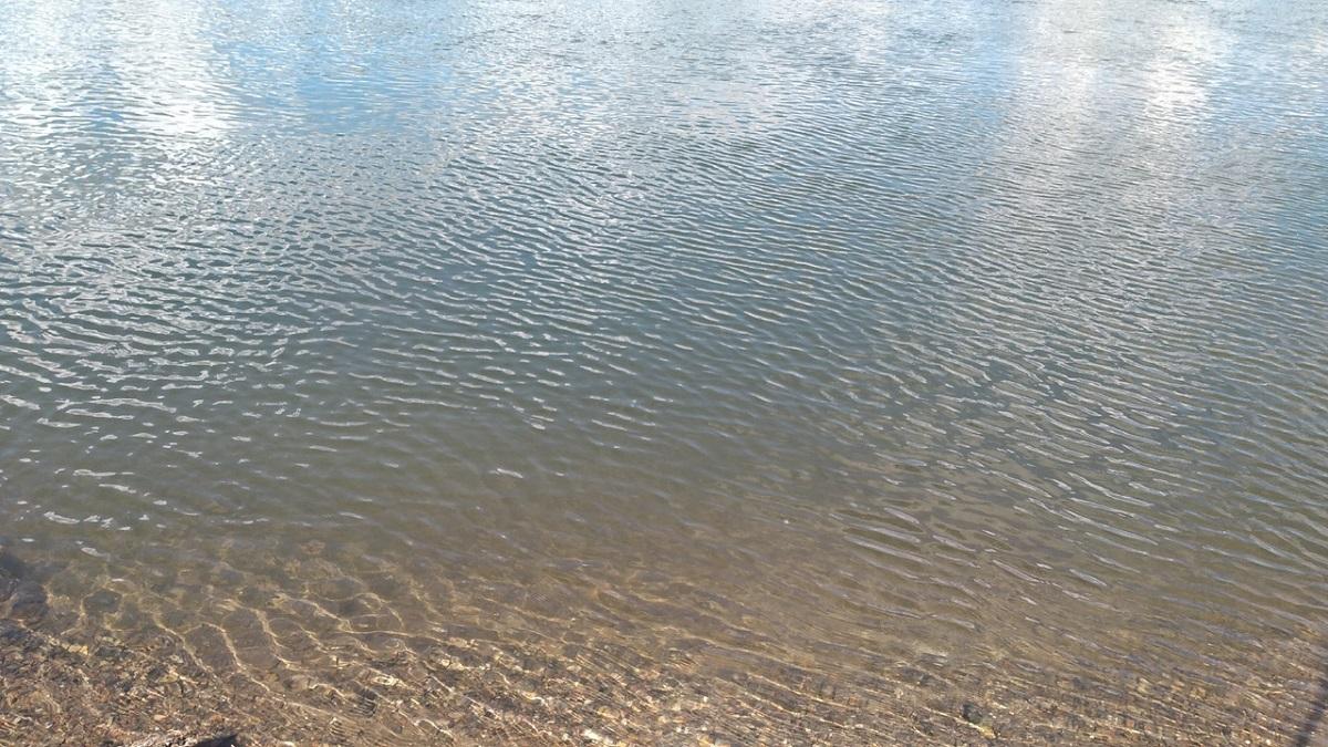 утонул, вода
