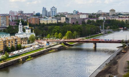 красный мост