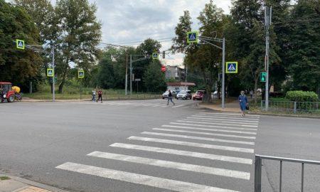 переход, пешеходы