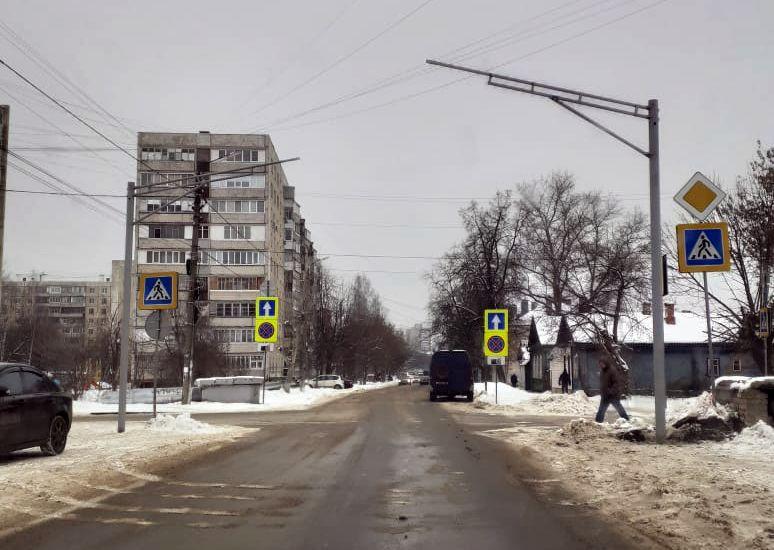 Орёл, улица, переход