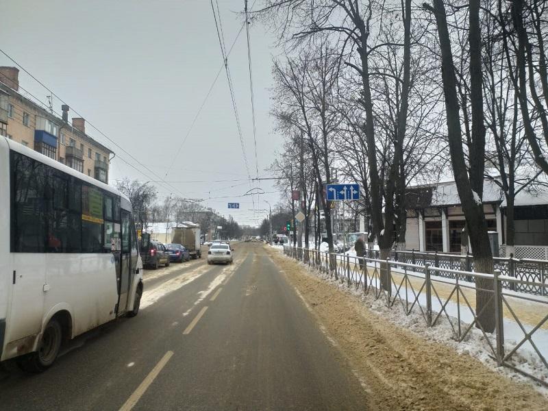 улица, машины, маршрутка